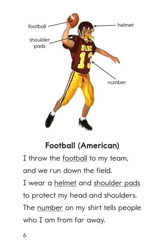 Book Preview For Sports Things Page 6