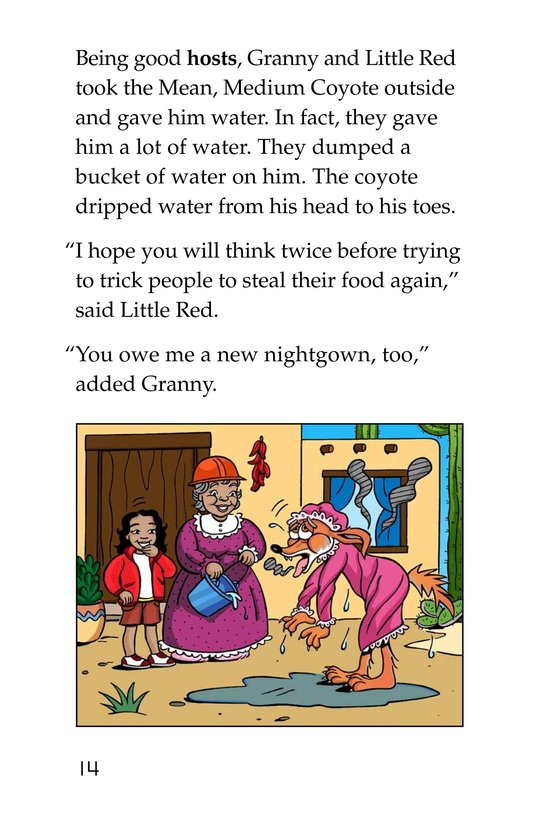 Book Preview For Little Red's Secret Sauce Page 14