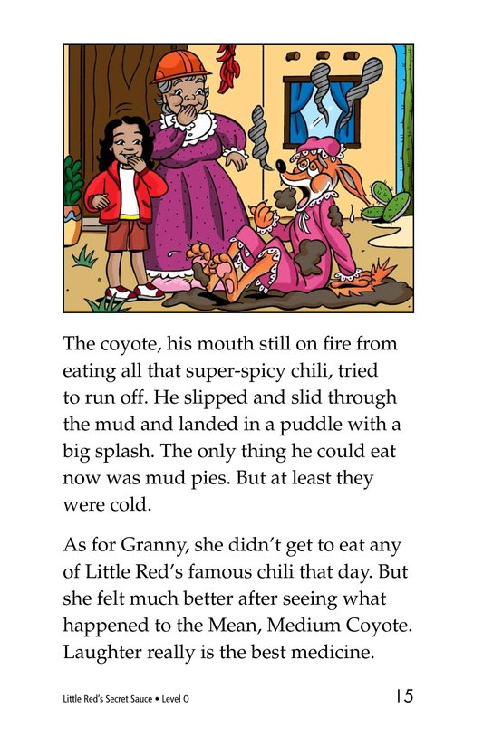 Book Preview For Little Red's Secret Sauce Page 15