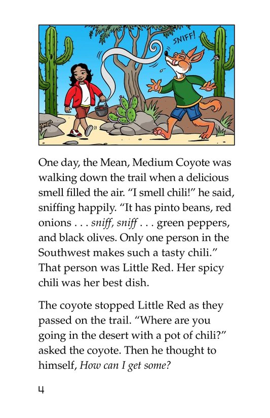 Book Preview For Little Red's Secret Sauce Page 4