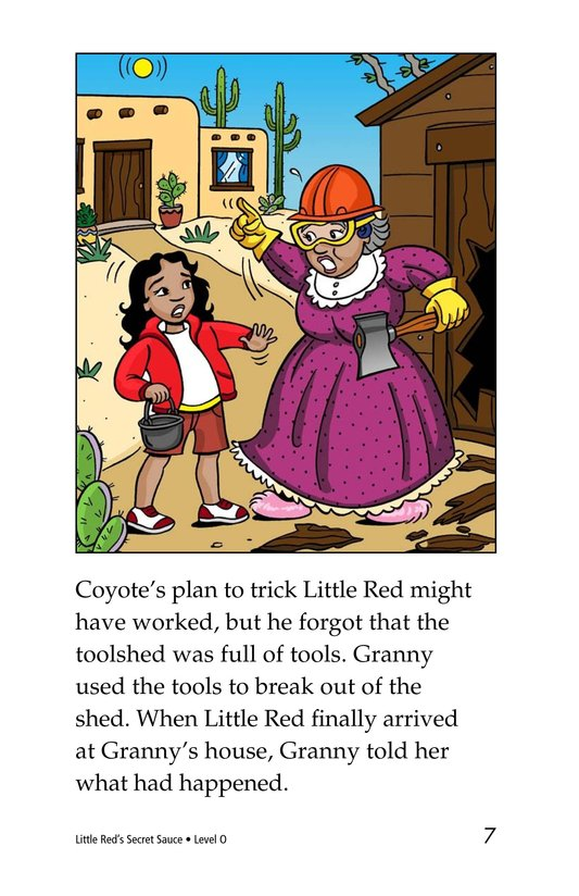 Book Preview For Little Red's Secret Sauce Page 7