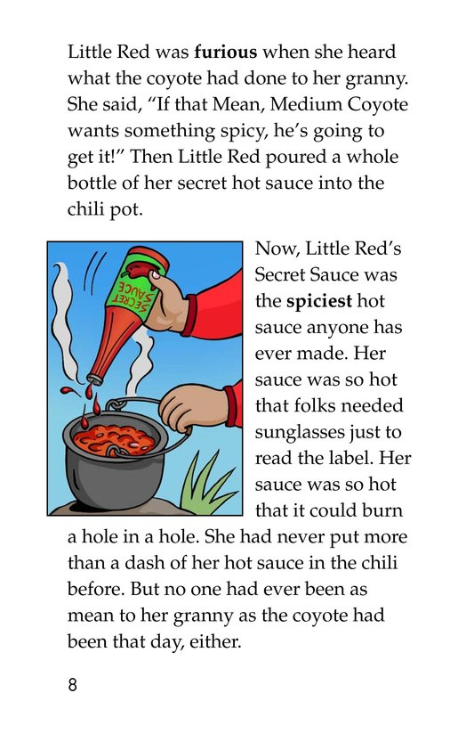 Book Preview For Little Red's Secret Sauce Page 8