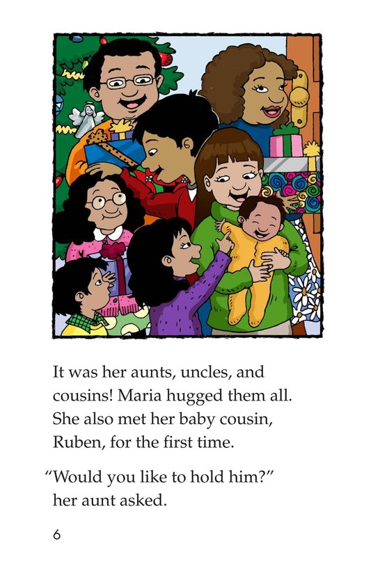 Book Preview For Maria's Family Christmas Page 6