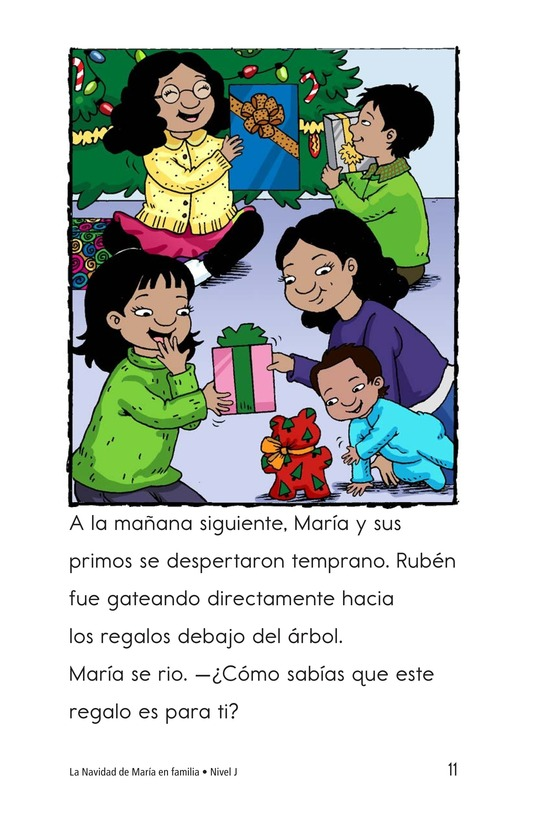 Book Preview For Maria's Family Christmas Page 11