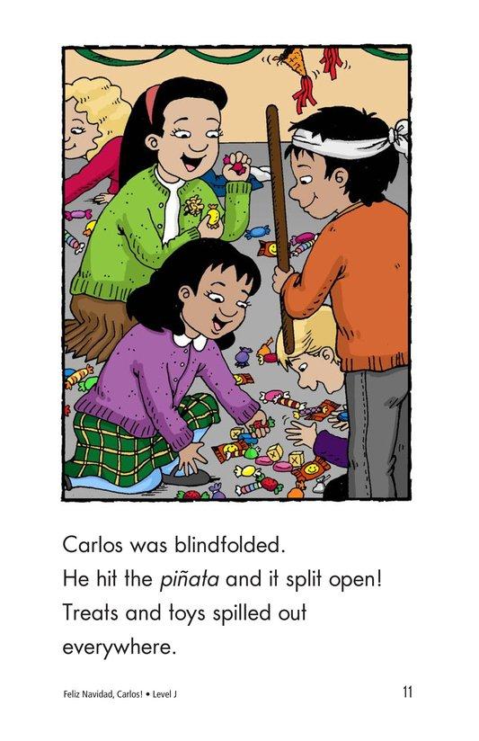 Book Preview For Feliz Navidad, Carlos! Page 11