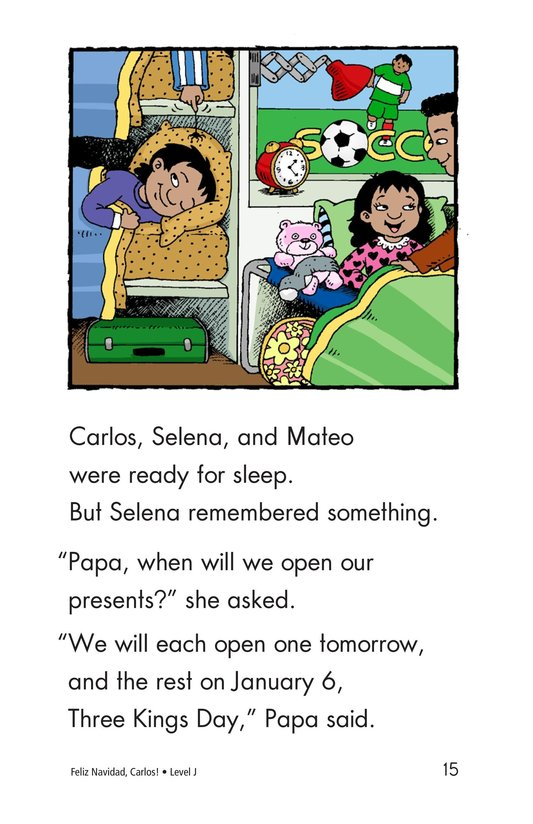 Book Preview For Feliz Navidad, Carlos! Page 15