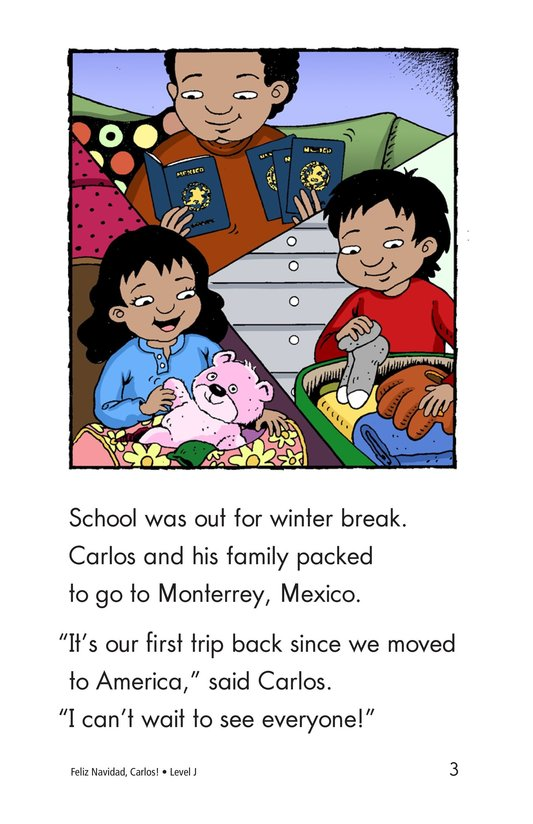 Book Preview For Feliz Navidad, Carlos! Page 3