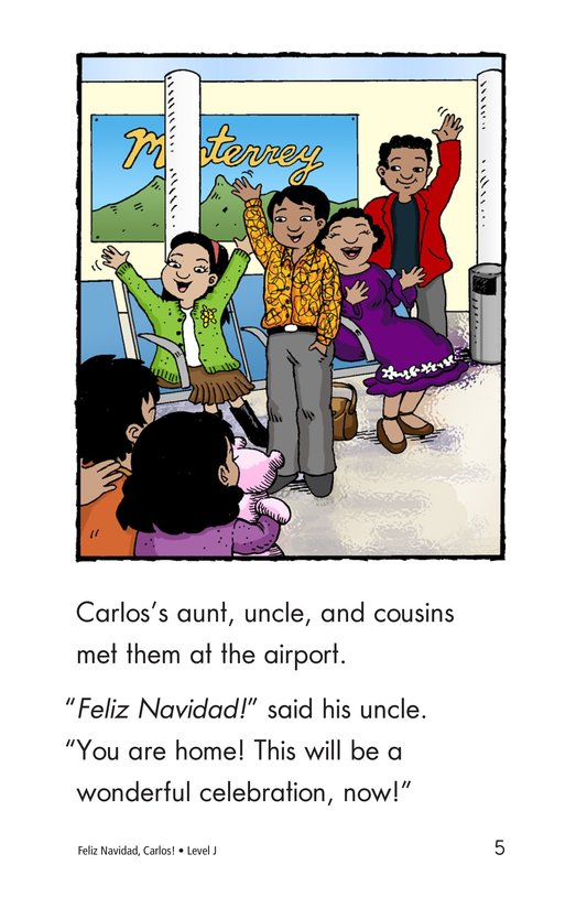 Book Preview For Feliz Navidad, Carlos! Page 5