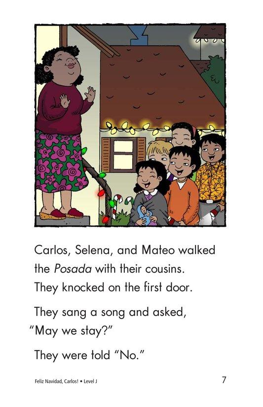 Book Preview For Feliz Navidad, Carlos! Page 7