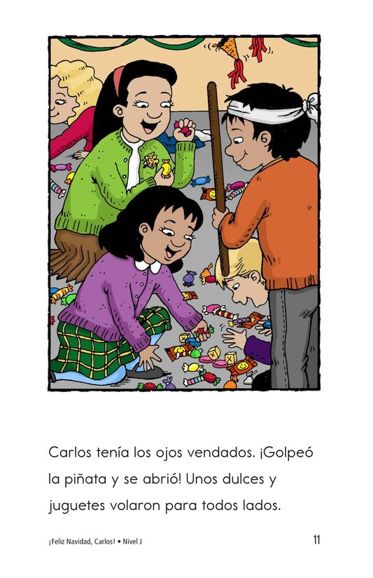 Book Preview For Feliz Navidad, Carlos! Page 11