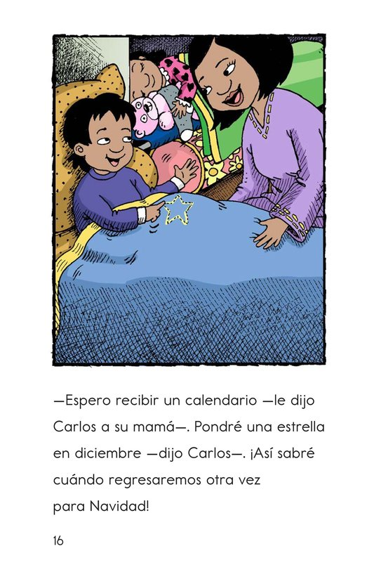 Book Preview For Feliz Navidad, Carlos! Page 16