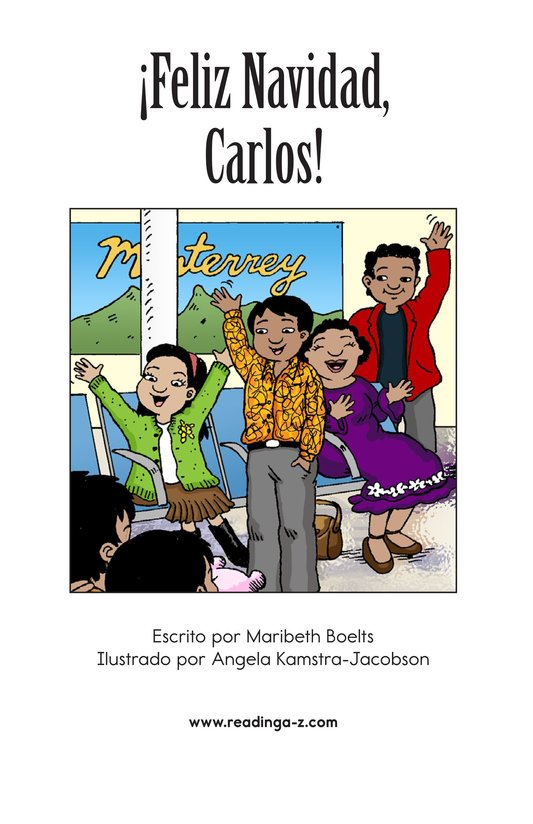 Book Preview For Feliz Navidad, Carlos! Page 2