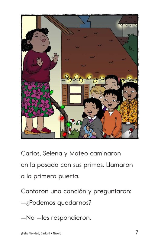 Book Preview For Feliz Navidad, Carlos! Page 7