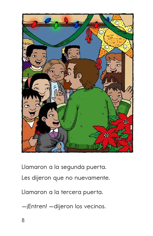 Book Preview For Feliz Navidad, Carlos! Page 8