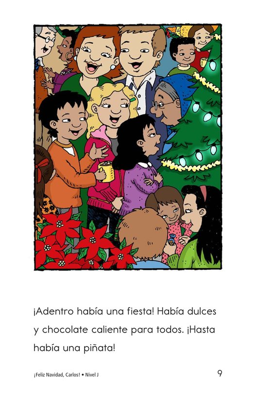 Book Preview For Feliz Navidad, Carlos! Page 9