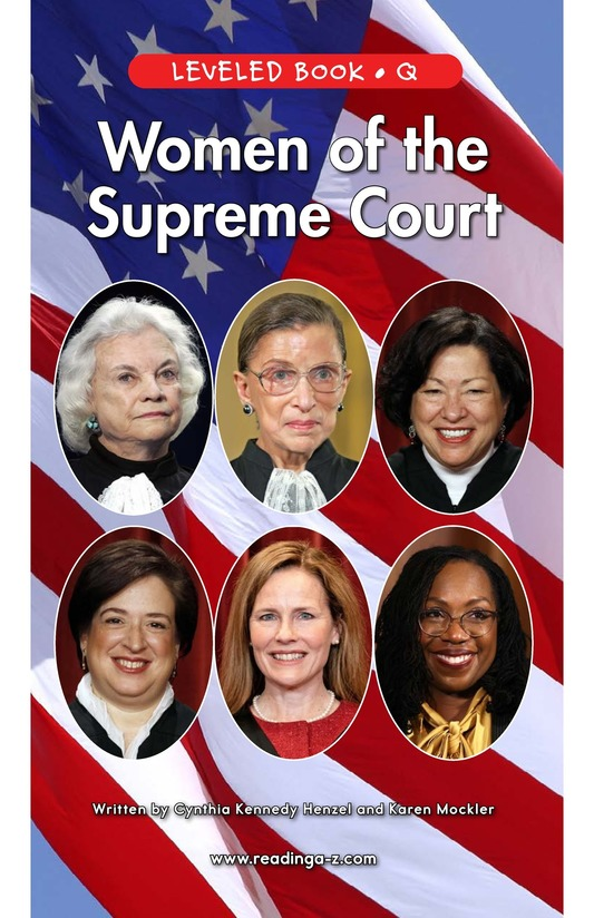 Book Preview For Women of the Supreme Court Page 1