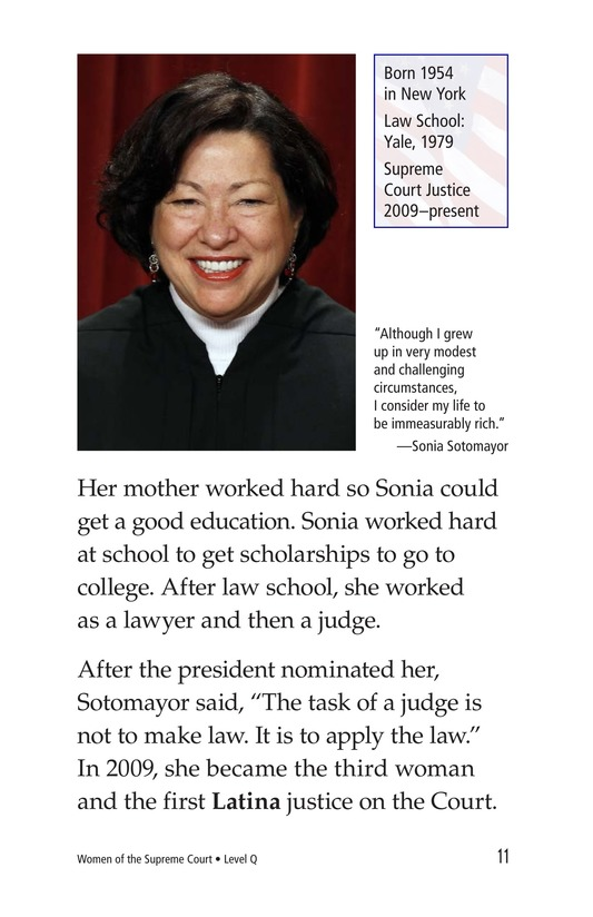 Book Preview For Women of the Supreme Court Page 11