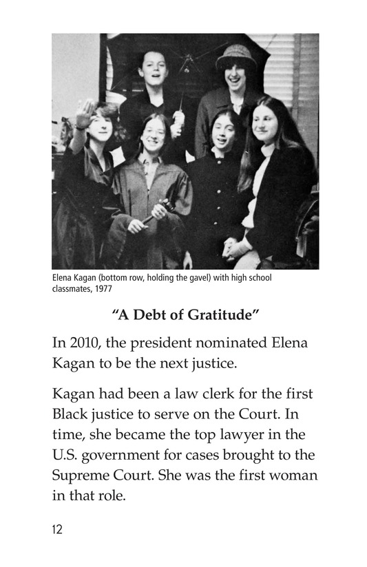 Book Preview For Women of the Supreme Court Page 12