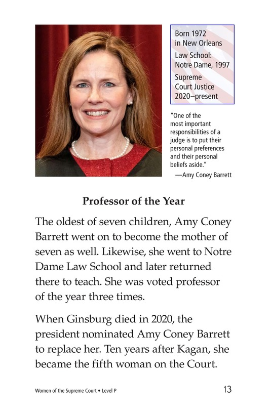 Book Preview For Women of the Supreme Court Page 13