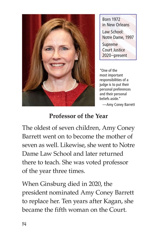 Book Preview For Women of the Supreme Court Page 14