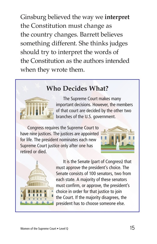 Book Preview For Women of the Supreme Court Page 15