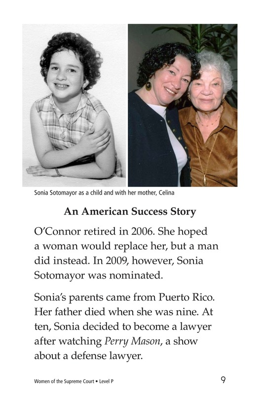 Book Preview For Women of the Supreme Court Page 9