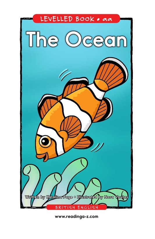 Book Preview For The Ocean Page 1