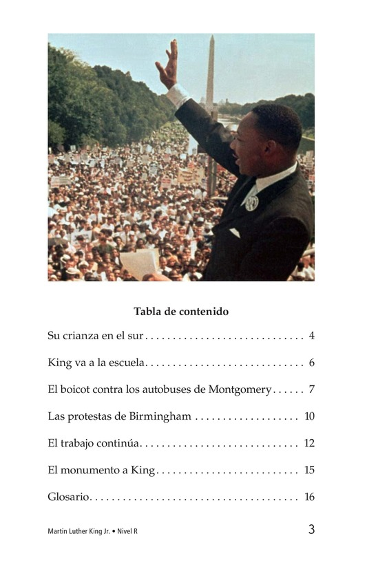 Book Preview For Martin Luther King, Jr. Page 3