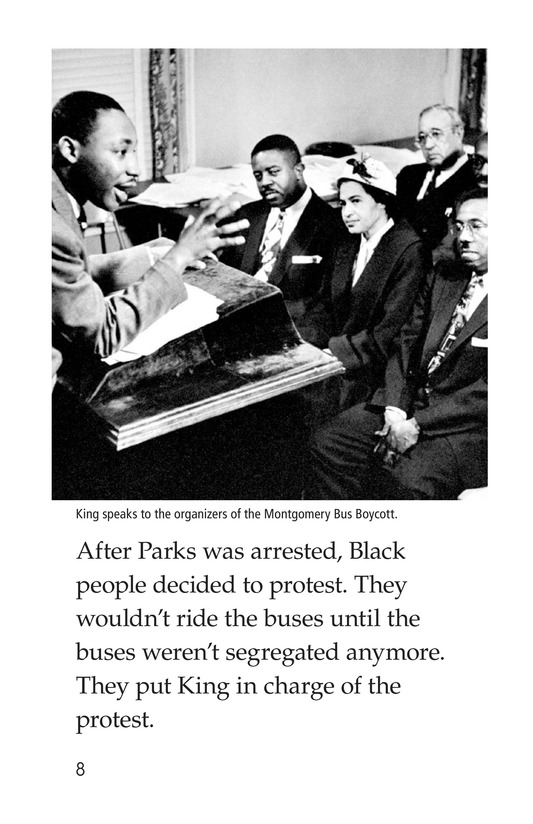 Book Preview For Martin Luther King, Jr. Page 8