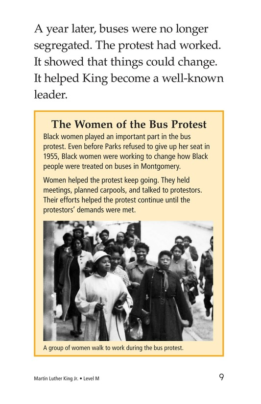 Book Preview For Martin Luther King, Jr. Page 9