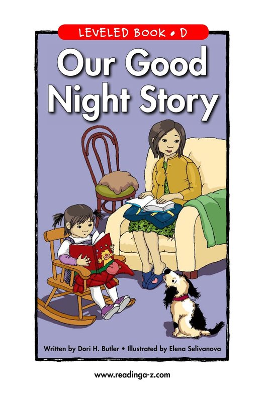 Book Preview For Our Good Night Story Page 1