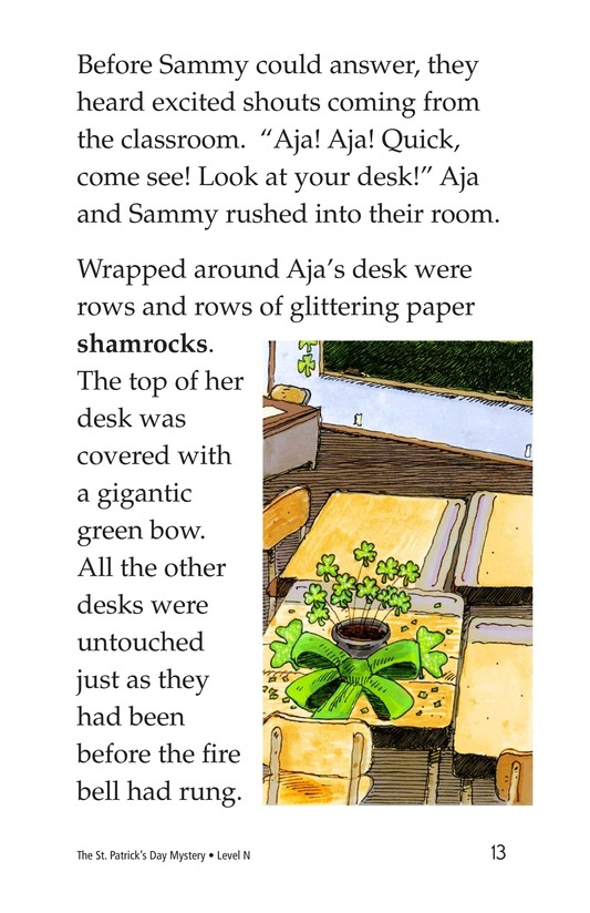 Book Preview For The St. Patrick's Day Mystery Page 13