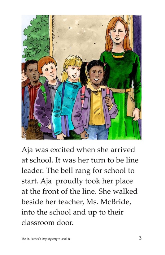Book Preview For The St. Patrick's Day Mystery Page 3
