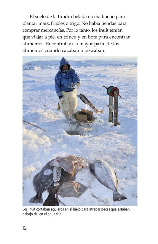 Book Preview For The Inuit: Northern Living Page 12