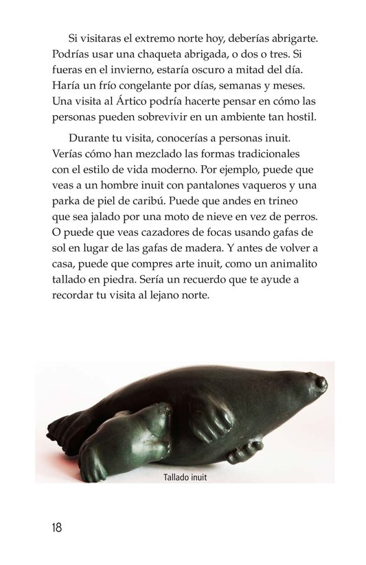 Book Preview For The Inuit: Northern Living Page 18