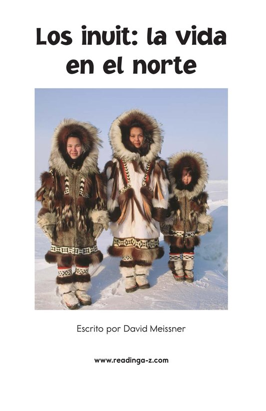 Book Preview For The Inuit: Northern Living Page 2