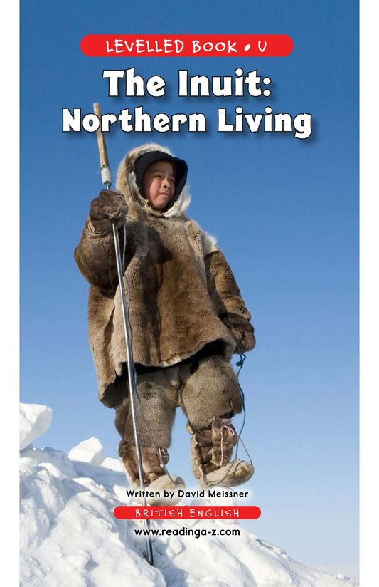 Book Preview For The Inuit: Northern Living Page 1