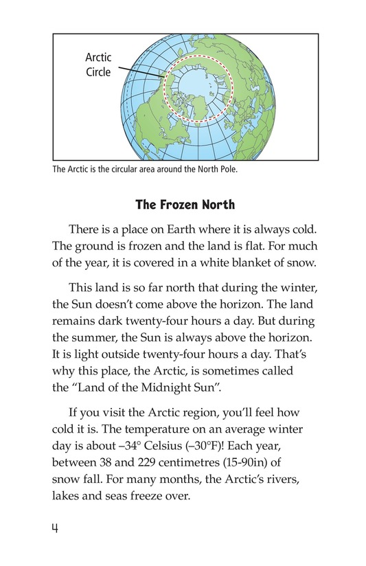 Book Preview For The Inuit: Northern Living Page 4