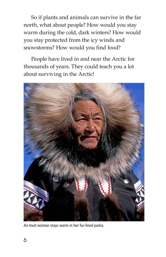 Book Preview For The Inuit: Northern Living Page 6