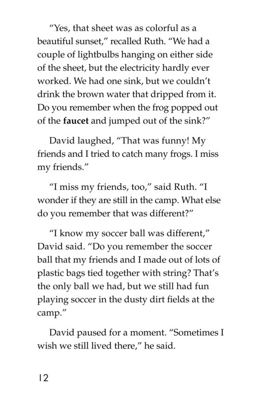 Book Preview For The New Soccer Ball Page 12