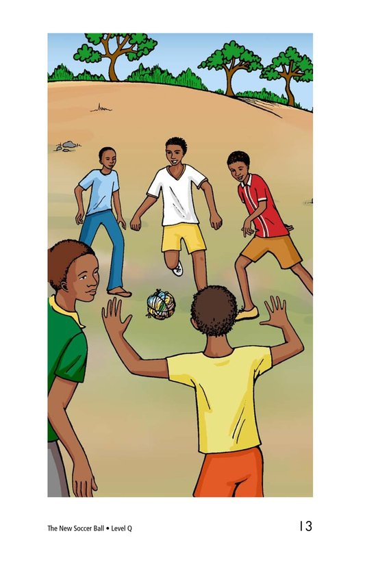 Book Preview For The New Soccer Ball Page 13