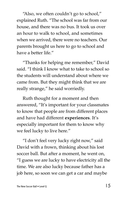 Book Preview For The New Soccer Ball Page 15