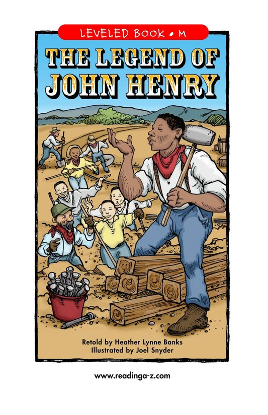 Book Preview For The Legend of John Henry Page 1