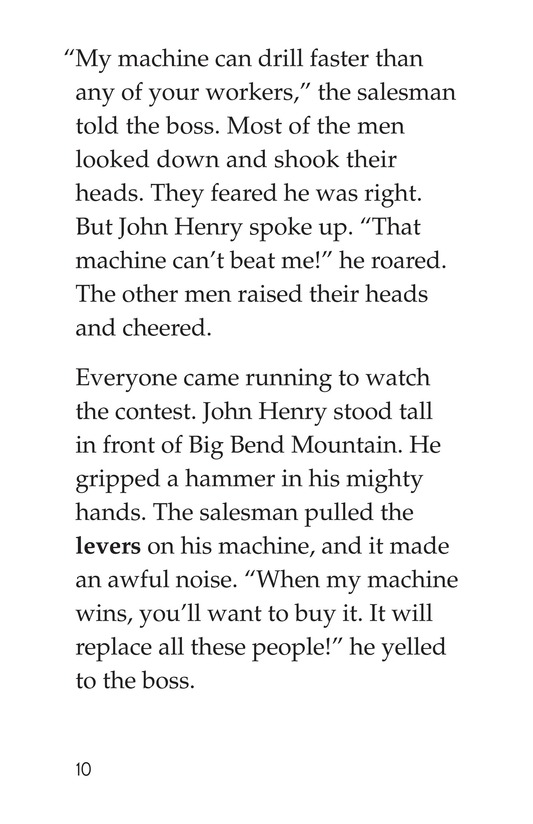 Book Preview For The Legend of John Henry Page 10