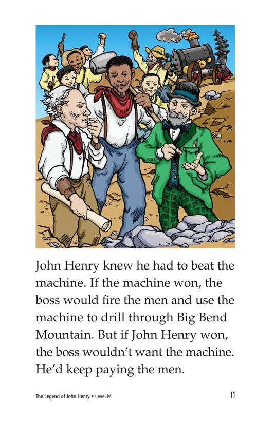 Book Preview For The Legend of John Henry Page 11