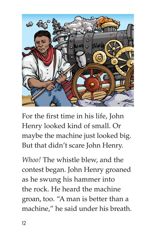 Book Preview For The Legend of John Henry Page 12