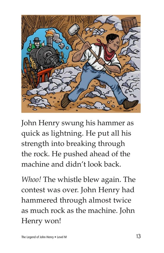 Book Preview For The Legend of John Henry Page 13