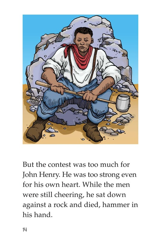 Book Preview For The Legend of John Henry Page 14