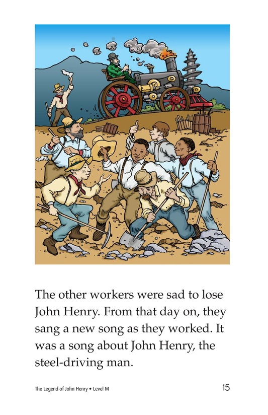 Book Preview For The Legend of John Henry Page 15