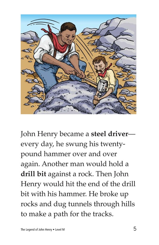 Book Preview For The Legend of John Henry Page 5